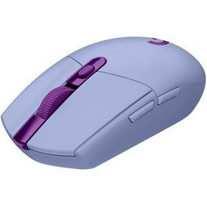 Miš Logitech G305 Lightspeed, bežični, gaming, 12000DPI, HERO senzor, lilac - MAXI PONUDA
