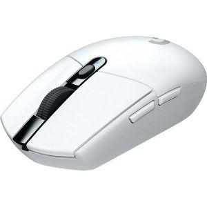 Miš Logitech G305 Lightspeed, bežični, gaming, 12000DPI, HERO senzor, bijeli - MAXI PONUDA