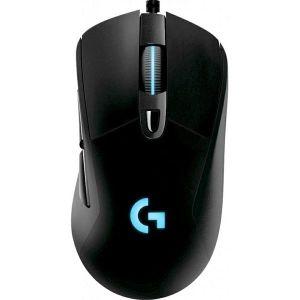 Miš Logitech G403 Hero, žičani, gaming, 16000DPI, HERO senzor, RGB, crni - PROMO