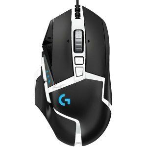 Miš Logitech G502 SE Hero, žičani, gaming, 16000DPI, HERO senzor, crno-bijeli - PROMO