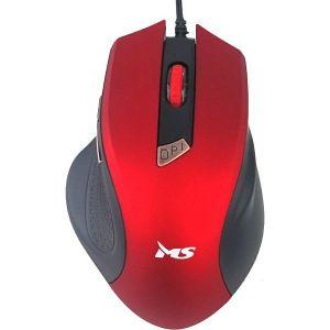 Miš MS FOCUS C116, žičani, crveni