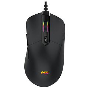 Miš MS Nemesis C330, žičani, gaming, 6400DPI, RGB, crni
