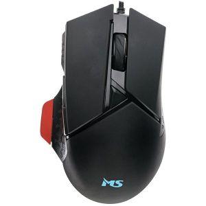 Miš MS Nemesis C350, žičani, gaming, 3200DPI, crni