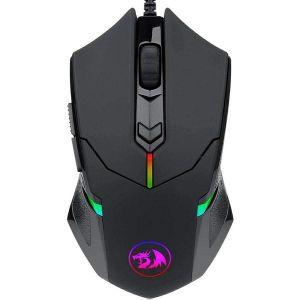 Miš Redragon Centrophorus M601, žičani, gaming, 2000DPI, RGB, crni