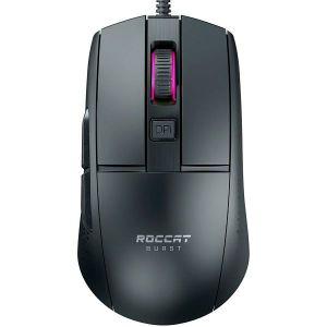 Miš Roccat Burst Core, žičani, gaming, 8500DPI, RGB, crni