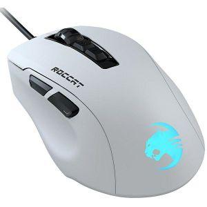 Miš Roccat Kone Pure Ultra, žičani, gaming, 16000DPI, RGB, bijeli
