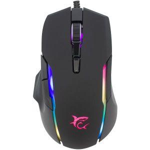 Miš White Shark GM-9009 Morholt, žičani, gaming, 7200DPI, RGB, crni