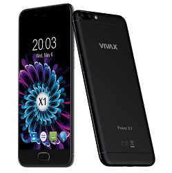 Mobitel Vivax SMART Point X1, 5.2'' IPS 1280x720, Quad-core 1.45GHz, 2GB RAM, 16GB Memorija, 4G/LTE, Crni