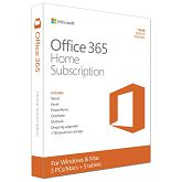 Microsoft Office 365 Home English EuroZone Subscr 1YR Medialess P2 (6GQ-00684)
