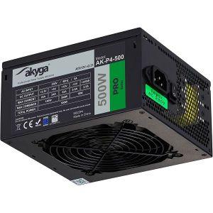 Napajanje AKYGA Pro AK-P4-500, 500W, Semi-Modular, Fan 12cm