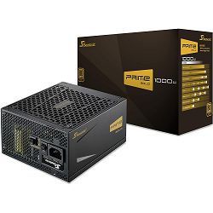 Napajanje Seasonic PRIME Ultra Gold, 1000W, 80+ Gold, modularno, ATX
