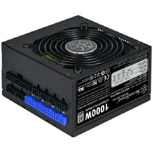 Napajanje SilverStone Strider Platinum Series, 1000W 80 Plus Platinum ATX PC Power Supply, Low Noise 120mm, 100% modular, FF122 magnetized fan filter