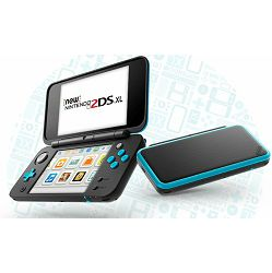 Nintendo 2DS XL Console Black & Turqouise