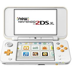 Nintendo 2DS XL Console White & Orange