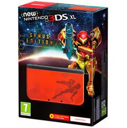Nintendo New 3DS XL Console Limited Edition Metroid Samus Returns
