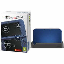 Nintendo New 3DS XL Console - Metallic Blue