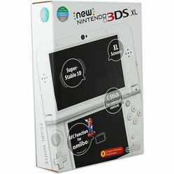 Nintendo New 3DS XL Console - Pearl White