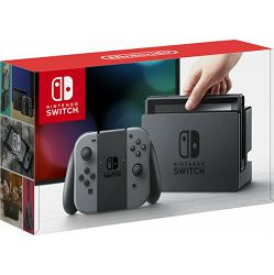 Nintendo Switch Console - Grey Joy-Con