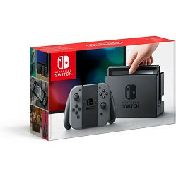 Nintendo Switch Console - Grey Joy-Con Double Mario Pack