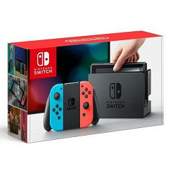 Nintendo Switch Console - Red & Blue Joy-Con