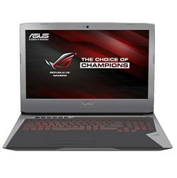 Notebook Asus ROG G752VT-GC047D, Intel Core i7 6700HQ up to 3.5GHz, 8GB DDR4, 1TB HDD, 17.3
