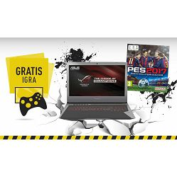 Notebook Asus ROG G752VT-GC049D, Intel Core i7 6700HQ up to 3.5GHz, 16GB DDR4, SSD 256GB, 17.3