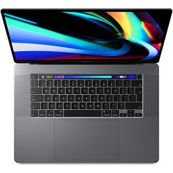 Notebook MacBook Pro 16 Touch Bar/8-core i9 2.3GHz/16GB/1TB SSD/Radeon Pro 5500M w 4GB, Space Grey, CRO KB, mvvk2cr/a