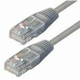 NaviaTec Cat5e UTP Patch Cable 0,5m grey