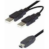 NaviaTec USB A to Mini with power supplier 1.5m