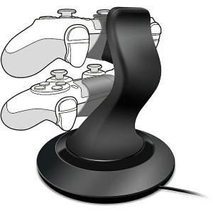 OPREMA za konzolu PS4 SpeedLink TWINDOCK punjač, crni