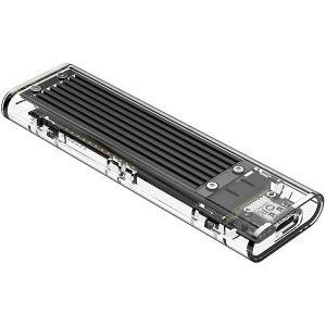 Orico vanjsko kućište NVMe M.2 SSD (10Gbps), USB3.1, crno (ORICO TCM2-C3-BK-BP)