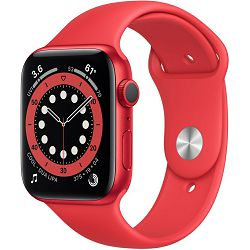 Pametni sat Apple Watch S6 GPS, 44mm, PRODUCT(RED) Aluminium Case with PRODUCT(RED) Sport Band - Regular, m00m3vr/a