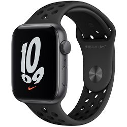 Pametni sat Apple Watch Nike SE (v2), 44mm Space Gray Aluminium Case with Anthracite Black Nike Sport Band, mkq83vr/a