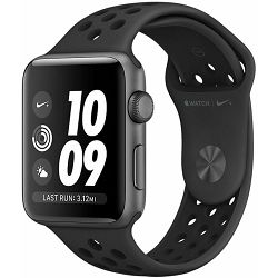 Pametni sat Apple Watch Nike+ Series 3, 42mm Space Gray Aluminium Case with Anthracite Black Nike Sport Band, mtf42cn/a