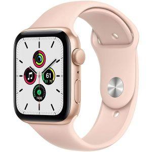 Pametni sat Apple Watch SE GPS, 40mm, Gold Aluminum Case with Pink Sand Sport Band, mydn2vr/a