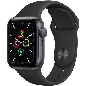 Pametni sat Apple Watch SE GPS, 40mm, Space Gray Aluminum Case with Black Sport Band, mydp2vr/a