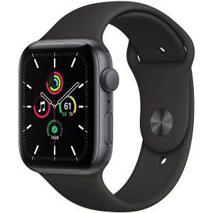 Pametni sat Apple Watch SE GPS, 44mm, Space Gray Aluminum Case with Black Sport Band, mydt2vr/a