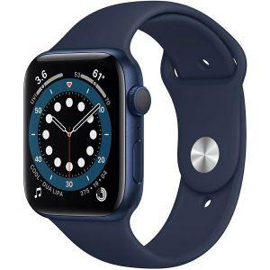 Pametni sat Apple Watch Series 6 GPS, 40mm, Blue Aluminum Case with Deep Navy Sport Band, mg143vr/a
