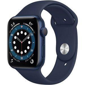 Pametni sat Apple Watch Series 6 GPS, 44mm, Blue Aluminium Case with Deep Navy Sport Band, m00j3vr/a