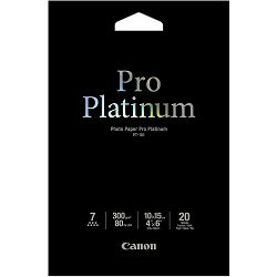 Photo papir Canon Pro Platinum PT101 10x15 - 20L