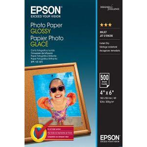 Photo papir Epson Glossy 10x15cm, 500 sheets