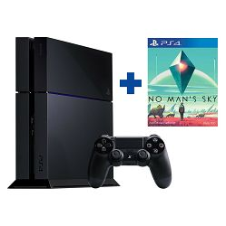 Playstation 4 1TB C Chassis Black + No Man's Sky PS4