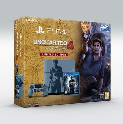 PlayStation 4 1TB C chassis Special Edition + Uncharted 4: A Thief's End