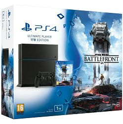 PlayStation 4 1TB C chassis + Star Wars Battlefront