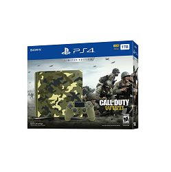 PlayStation 4 1TB E chassis Camo + Call of Duty: World War II + That's you VCH