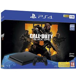 PlayStation 4 1TB F chassis + Call of Duty: Black Ops 4