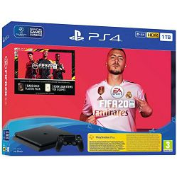 PlayStation 4 1TB F chassis + FIFA 20 + FUT 20 VCH + PS Plus 14 Days