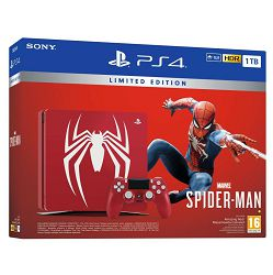 PlayStation 4 1TB F chassis Limited Edition + Spider-Man