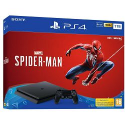 PlayStation 4 1TB F chassis + Spider-Man
