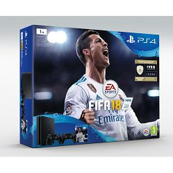 PlayStation 4 1TB Slim E chassis + FIFA 18 Stnd. Ed. + DS4 + 14 Days PS Plus